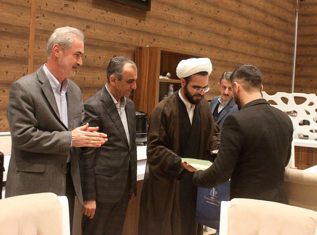 جمعی از دانشجویان خارجی دانشگاه تبریز فارغ التحصیل شدند
