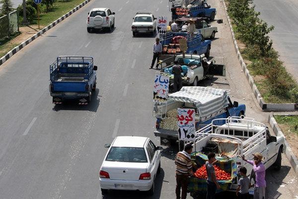 بیش از ۱۸۰۰ وانت بار سدمعبر در تهران شناسایی شدند