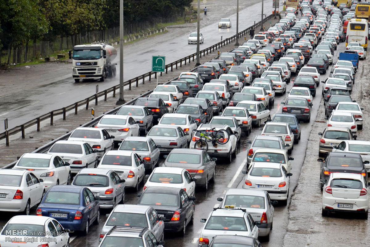 آخرین وضعیت جوی و ترافیکی جاده ها در ۱۵ اسفند ۹۸