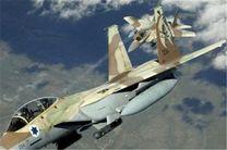 حمله یک جنگنده اسرائیلی به مرکز نوار غزه