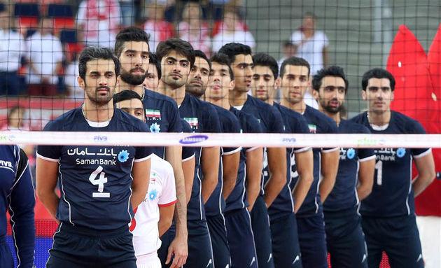 نتیجه دیدار والیبال ایران- چین/ سه امتیاز شیرین از برزیل