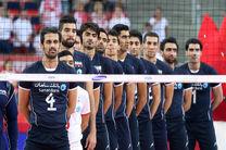 ساعت بازی والیبال ایران و آلمان مشخص شد