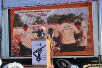 دهلران سند زنده مقاومت مردم استان در برابر دشمن هستند
