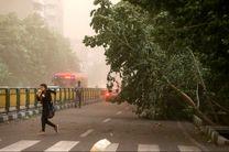 پیش بینی وزش باد شدید و وقوع طوفان لحظهای در استان اصفهان