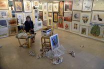 صد اثر با ۱۹۵ هنرمند از شهرستانها تا پاریس و میلان