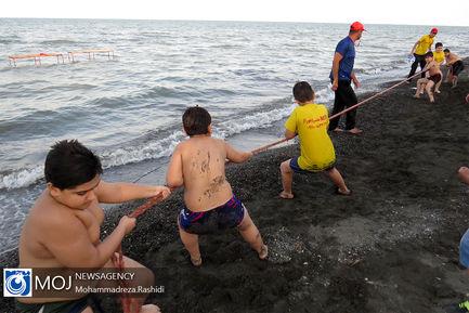 جشنواره بازی های دریایی در آستارا