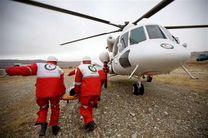 وقوع انفجار شدید در هشتگرد/ انتقال مصدومان با بالگرد به بیمارستان