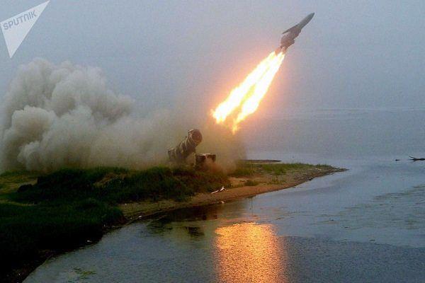 شلیک موشک کروز زیردریایی توسط روسیه