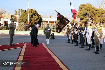 بدرقه رسمی رییس جمهوری پیش از سفر به ترکیه