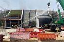 آتش سوزی در محل نمایشگاه اکسپوی دبی