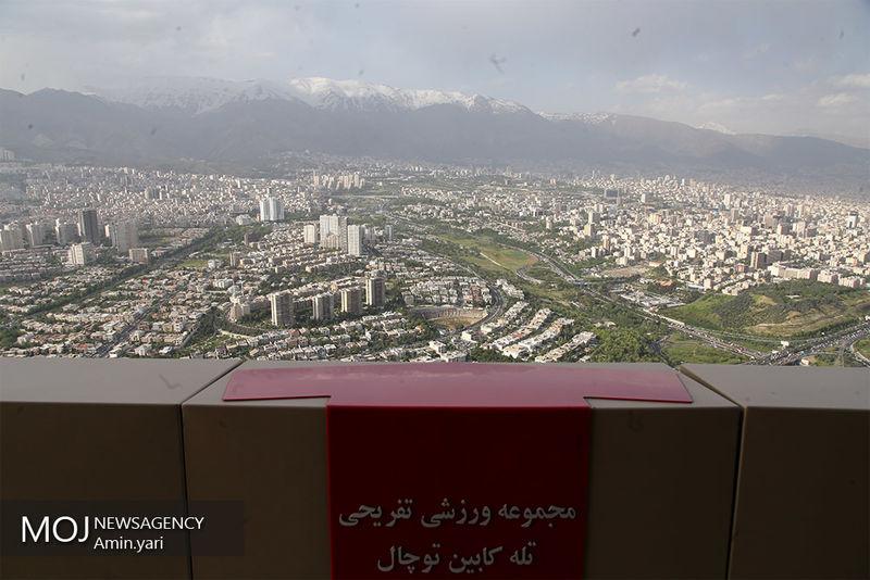 کیفیت هوای تهران ۷ اردیبهشت ۹۹/ شاخص کیفیت هوا به ۶۹ رسید