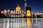 برگزاری مراسمهای ماه محرم با رعایت پروتکل ها در حرم مطهر رضوی