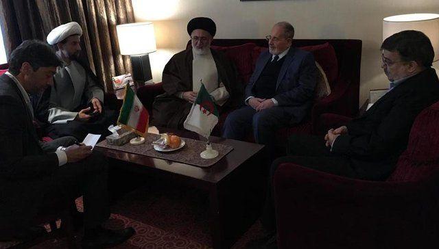 دیدارهای جداگانه نماینده ولی فقیه در امور حج با الجزایر و افغانستان