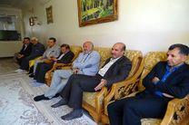 منزل شهیدان فرصتیان میزبان مدیر کل ورزش و جوانان فارس شد