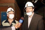 شرکت ذوب آهن با  تکنولوژی مدرن ، ریل مورد نیازکشور را تامین می کند