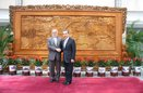 دیدار معاون ظریف با وزیر امور خارجه چین در پکن