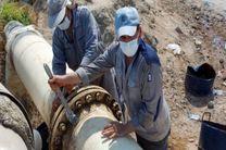 بازگشتن خط لوله در اسکله نفتی شهید رجایی بندرعباس به خط مدار انتقال