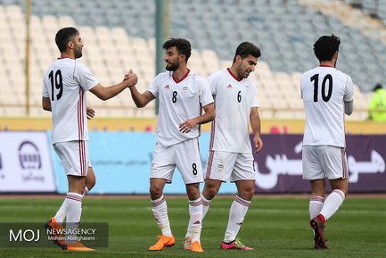 دیدار تیم های ملی فوتبال ایران و سیرالئون