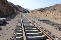 آغاز ریل گذاری راه آهن چابهار-زاهدان با حضور وزیر راه و شهرسازی