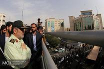 مراسم تشییع پیکر 54 شهید دفاع مقدس نیروی انتظامی (2)
