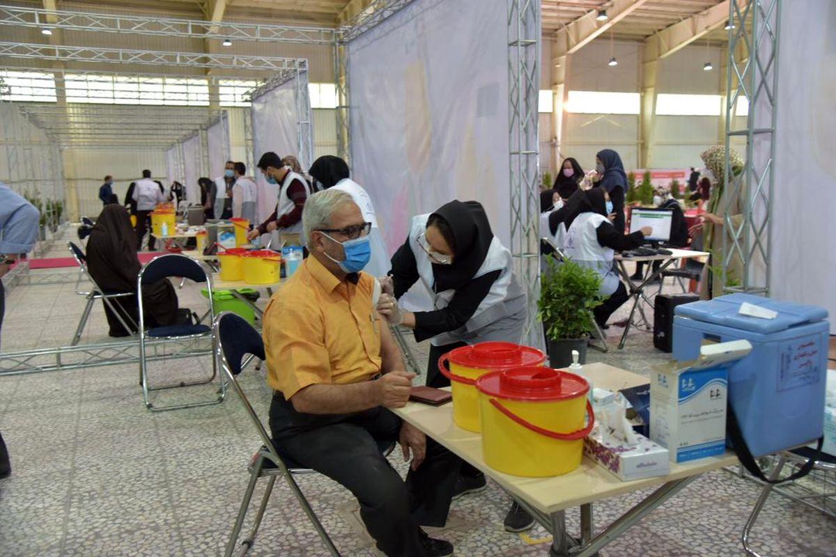 تبدیل مکان قبلی برگزاری نمایشگاه های اصفهان به مرکز واکسیناسیون کرونا