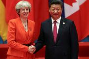 رئیس جمهوری چین خواستار همکاری عملی با انگلیس شد