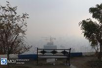 کاهش کیفیت هوای پایتخت و وضعیت ناسالم برای گروه های حساس