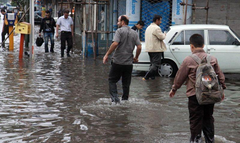 کرندغرب با 66 میلیمتر رکورددار بارشهای اخیر کرمانشاه/ بارندگیها تا دوشنبه ادامه دارد