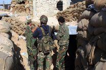 حمله نیروهای ارتش سوریه به مخفیگاه تروریست ها در «درعا»