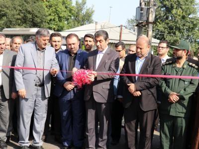 افتتاح پروژه های عمرانی در بخش سنگر رشت