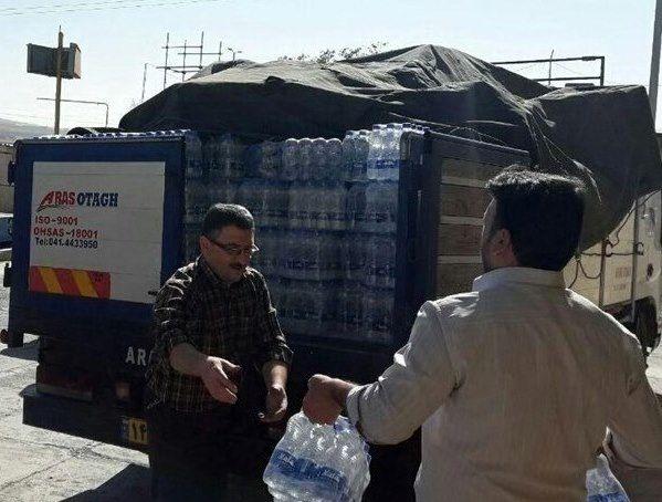 محموله کمکهای اوقاف اصفهان به مناطق زلزله زده غرب کشور ارسال شد