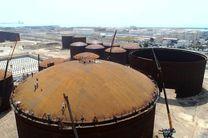 یک فناوری جدید مهندسی در هرمزگان بومی سازی شد/ سقف فوق سنگین مخازن نفتی نصب شد