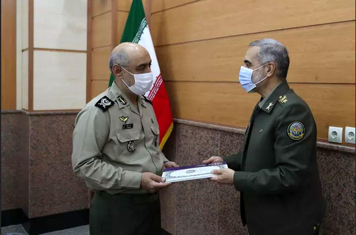 دو انتصاب جدید در وزارت دفاع