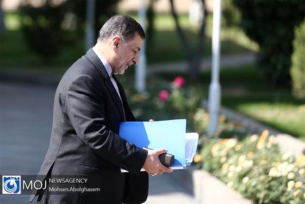 حاشیه جلسه هیات دولت - ۲۴ مهر ۱۳۹۸
