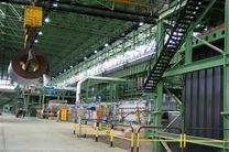ثبت سومین رکورد تولید در مگا مدول های شهید خرازی فولاد مبارکه تولید۸۳۹۰ تن آهن اسفنجی