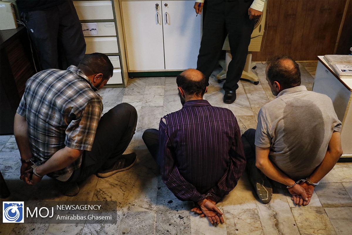 دستگیری اعضای باند 10 نفره سارقان سابقه دار منازل در کاشان / کشف 179 فقره سرقت منزل