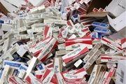 سیگارهای قاچاق در واژگونی خودرو لو رفت