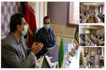 نشست مشترک رییس سازمان نظام مهندسی کشاورزی یزد با مدیرکل صدا و سیما