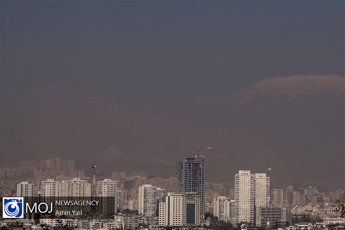 کیفیت هوای تهران ۵ آبان ۹۹/ شاخص کیفیت هوا به ۱۱۳ رسید