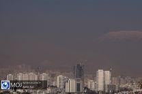 کیفیت هوای تهران ۱۴ آبان ۹۹/ شاخص کیفیت هوا به ۱۱۴ رسید
