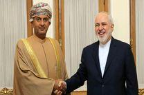دیدار و گفت و گوی وزیر تجارت و صنعت عمان با ظریف