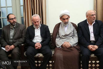 دیدار دبیر کل جنبش جهاد اسلامی فلسطین با مقام معظم رهبری