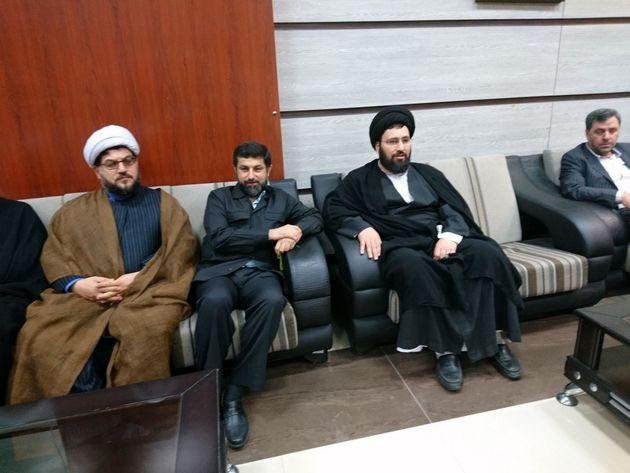 نوه امام خمینی (ره)  وارد خوزستان شد