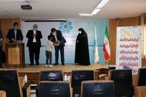 مشارکت بانک توسعه تعاون استان البرز در اهدای تبلت به دانش آموزان نیازمند