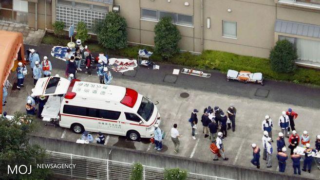 حمله با چاقو در حومه توکیو ۱۹ قربانی بر جا گذاشت