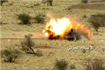 انهدام خودروی نظامی عربستان در جیزان/ همه سرنشینان کشته شدند
