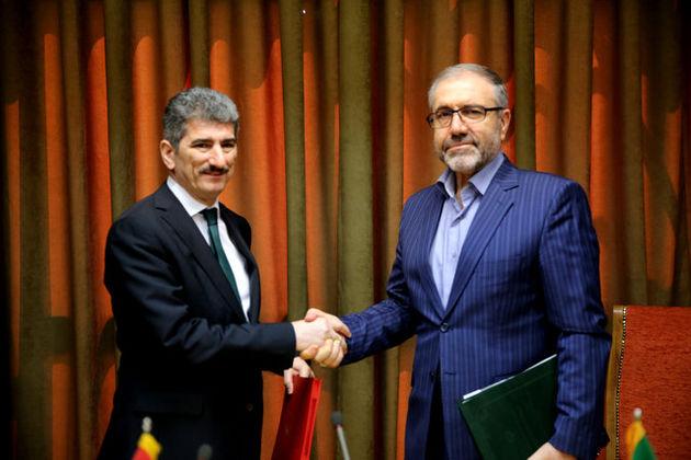 امضای صورت جلسه نشست کارگروه مشترک ایران و ترکیه