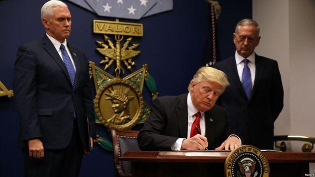 فرمان مهاجرتی ترامپ به طور محدود اجرا شود
