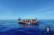 ایتالیا ۱۳۰۰ مهاجر را از آب گرفت
