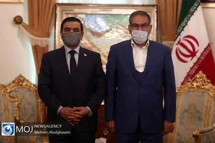 دیدار وزیر دفاع عراق با علی شمخانی
